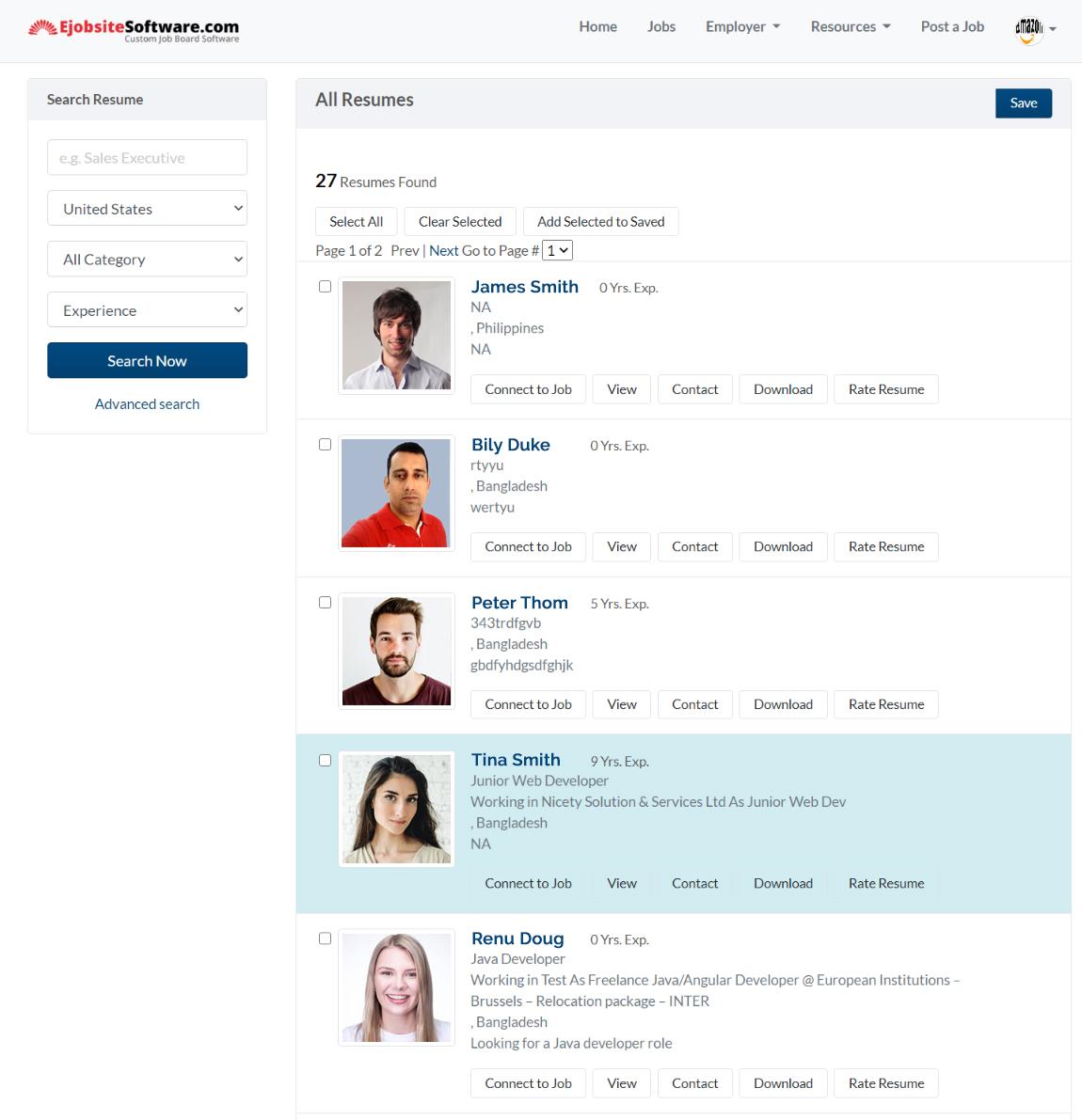 Job Board Software Employer